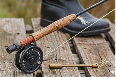 Picture Of Angling Fishing Rod Fly Fishing