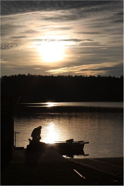 Picture Of Fishing At Lake Water
