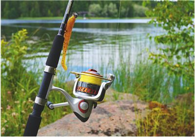 Picture Of Fishing Line And Equipment