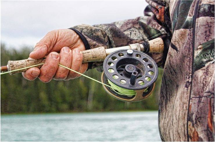 Picture Of Fishing Reel Rod