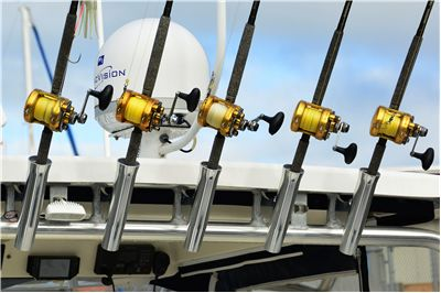 Picture Of Fishing Reels And Gear For Angler