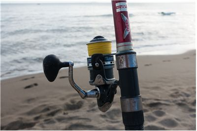 Picture Of Fishing Rod And Fishing Line