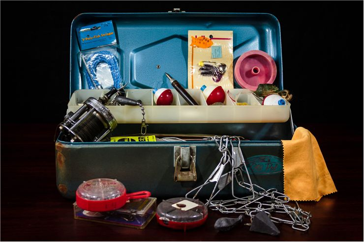 Picture Of Fishing Tackle Box