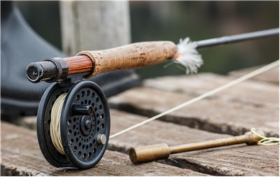 Picture Of Fly Fishing Angling Fishing