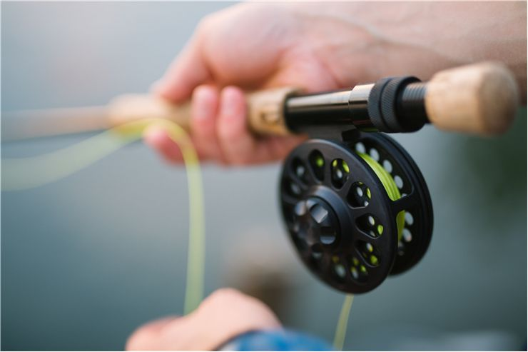 Picture Of Fly Fishing Rod