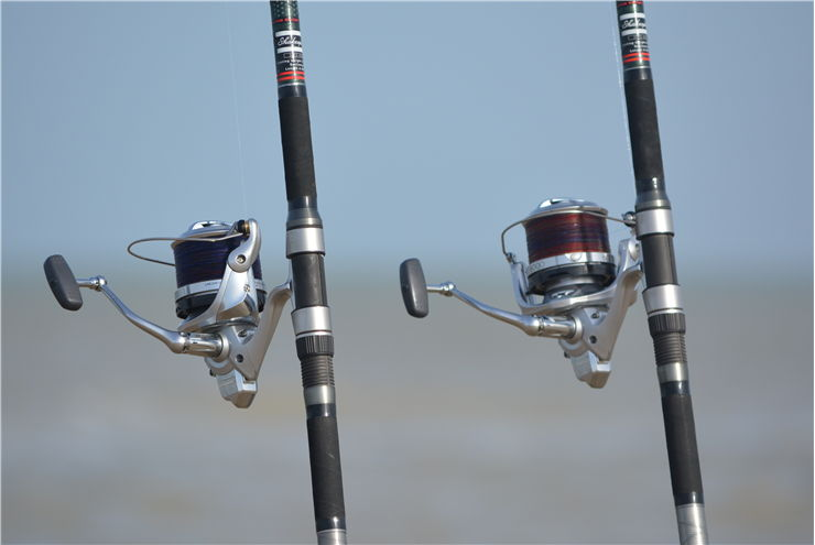 Picture Of Two Fishing Rods